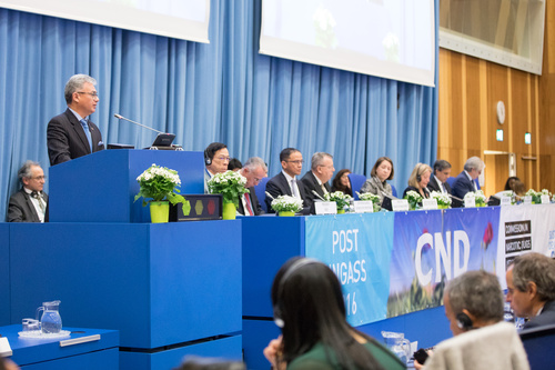 (c) www.fotodienst.at / Anna Rauchenberger – Wien, 12.03.2018 - Sixty-first session of the Commission on Narcotic Drugs, Vienna, 12-16 March 2018